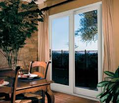 exterior door with blinds between glass exterior design cool white pella doors with decorative glass for