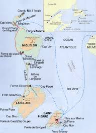 map of st and miquelon and miquelon and miquelon cruise port of