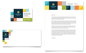 advertising company business card u0026 letterhead template design