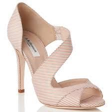 lyst l k bennett laura cut away asymmetric sandals in natural