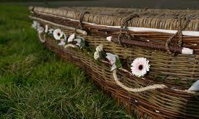 wicker casket wicker coffins from willow sussex willow coffins