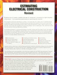 estimating electrical construction revised mark tyler