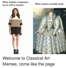Fashion Meme - what fashion companies try to sell to women what women actually