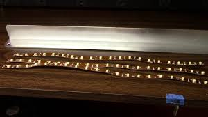 under cabinet strip lighting led under shelf lighting youtube