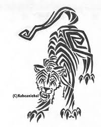 tribal tiger by mongrelistic on deviantart