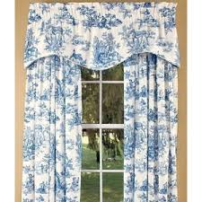 Blue Toile Curtains Toile Curtain 100 Images Toile Curtains Design Ideas Toile