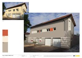 Relooker Facade Maison by Simulation Peinture Facade Maison Travaux Peintures Exterieures