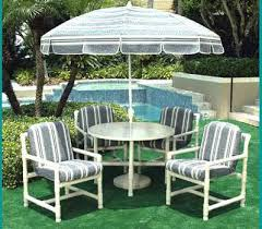 Pvc Patio Table Pvc Patio Furniture Use Existing Cushions For Dimensions Pvc