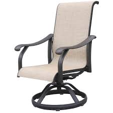 High Back Sling Patio Chairs by High Back Sling Patio Chairs Additionally Patio Chair Slings