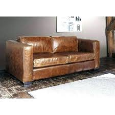 canapé marron vieilli canape marron cuir canape lit cuir center canapac 3 places
