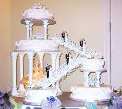 beautiful wedding cakes beautiful wedding cakes with and stairs the wedding