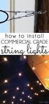 Hanging Patio Lights by Lighting Ideas Backyard Lighting And Lighting On Pinterest