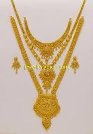 gold mini haram desisgns jewellery designs no