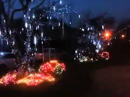 christmas lights that look like snow falling falling snow christmas lights youtube