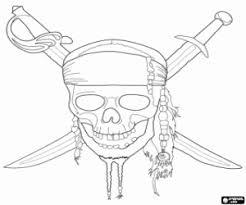 coloriage pirates des caraïbes à imprimer