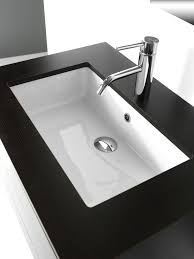 modern sanitary ware undermount washbasin by bleu provence