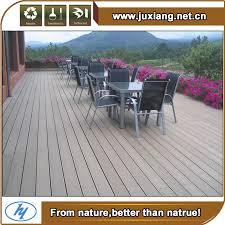 white antiseptic wood plastic composite decking waterproof