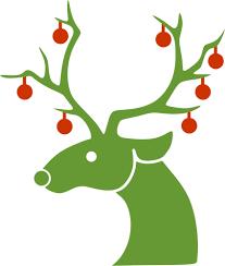 christmas reindeer 959 christmas reindeer clipart free domain vectors