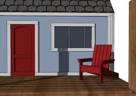ana white how to build a super easy little adirondack chair