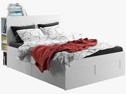 Brimnes Bed Frame Ikea Brimnes Bed 1 3d Cgtrader