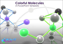 animated molecules powerpoint templatechemistry powerpoint