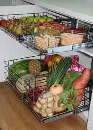 modern kitchen storage ideas fruit and vegetable storage ideas