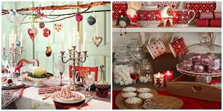christmas clockwise from top left table decor by my little party
