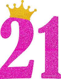 birthday girl 21st birthday girl pink princess crown sassy gift stickers by