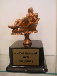 Armchair Sports Trophies Award World Trophies