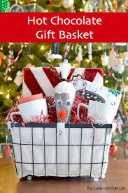 hot chocolate gift basket reindeer hot chocolate gift set