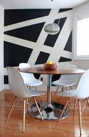 wandgestaltung streifen geometrische streifen mal eine andere idee um wände zu streichen