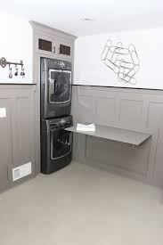 wall mounted folding laundry table chic keter folding work table in laundry room transitional with fold