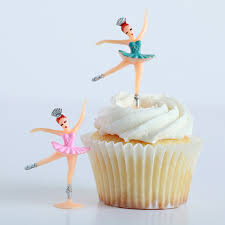 ballerina cake toppers bake it pretty miniature ballerina cupcake toppers shadowboxes
