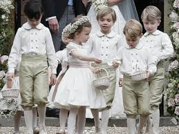 prince george and princess charlotte steal the show at pippa u0027s wedding