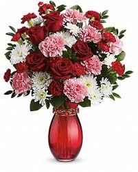 flower delivery rochester ny teleflora s sweet embrace bouquet vase arrangement arrangements