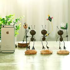 metal ornaments home decor lovely little ant ornaments decor home furnishing living room