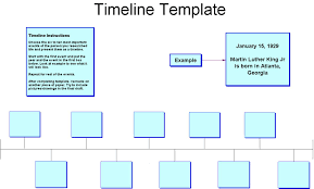 timeline template for kids great printable calendars