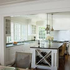 wine rack kitchen island patrick ahearn architecture kitchens built in wine rack island