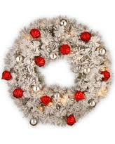 new shopping special 30 decorated wreath with battery