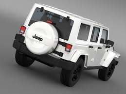 jeep wrangler unlimited x 2015 by creator 3d 3docean