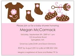 mod baby shower trendy mod clothes pink brown baby shower invitations girl baby