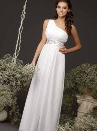 Greek Style Wedding Dresses What Are Some Cool Informal Wedding Dress Ideas The Best