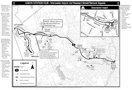 Route Maps by Fixed Route Service Maps And Service Overview Wrta