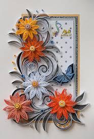 neli quilling art quilling cards 14 8 cm 10 5 cm summer