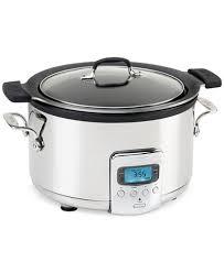 crockpot black friday sale slow cooker small kitchen appliances and electronics macy u0027s