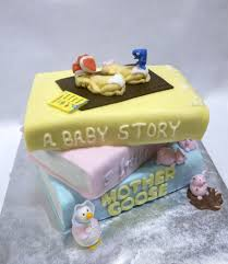 storybook themed baby shower storybook themed baby shower cake baby showers ideas