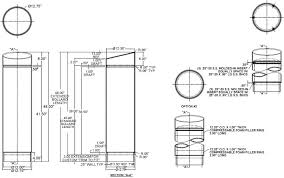 concrete bollard lighting fixtures round concrete bollard with reveal lines round concrete bollard