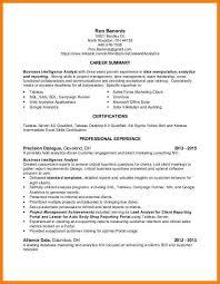 data analytics resume 9 data analytics resume precis format