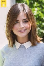 doctor who hairstyles jenna coleman takes selfies with fans on the set of doctor who