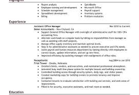 Objective Examples For Resumes by Office Manager Resume Objective Examples By Elizabeth Robinson